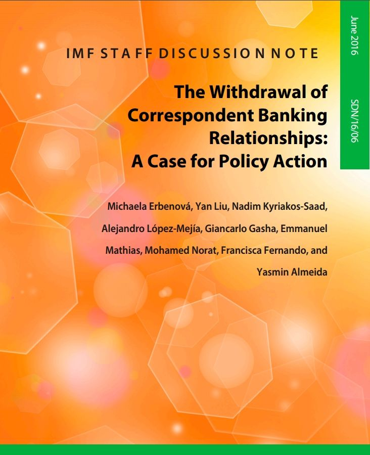 The Withdrawal of Correspondent Banking Relationships: A Case for Policy Action…