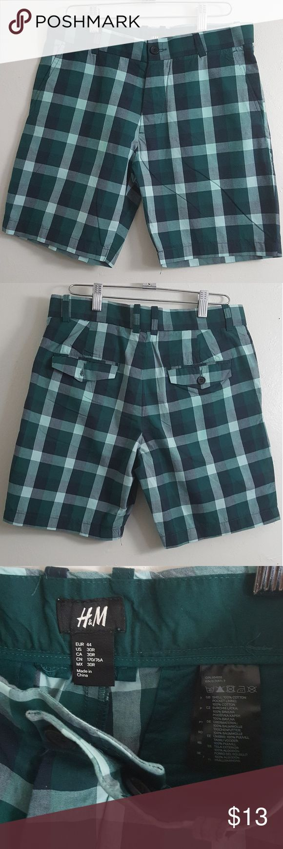 H&M Plaid Shorts H&M Plaid Shorts ||| worn twice in good condition||| H&M Shorts