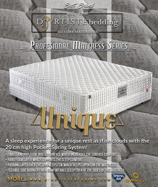 Est 1990 Luxury Mattresses D Artistebedding Www A Sleep Experience For Unique Rest As If On Clouds With The 20 Cm