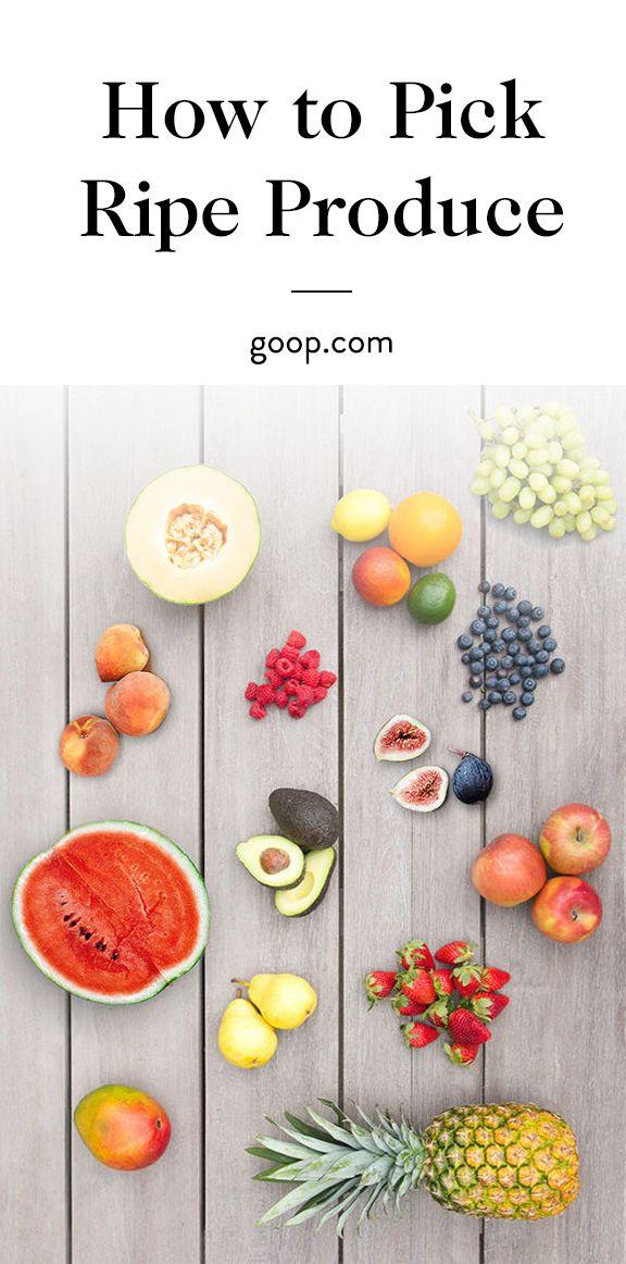 Fruit picking tips