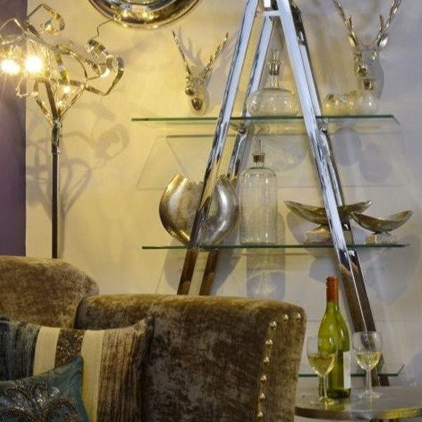 Dali Glass Petals Metal Standard Floor Lamp by Artisanti