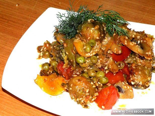 Рецепт салата фасоль с сухариками
