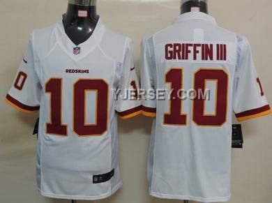 http://www.yjersey.com/discount-nike-redskins-10-griffin-iii-white-limited-jerseys.html DISCOUNT NIKE REDSKINS 10 GRIFFIN III WHITE LIMITED JERSEYS Only 36.00€ , Free Shipping!