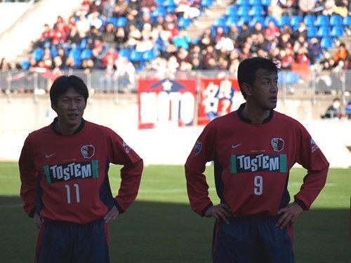 Yoshiyuki Hasegawa & Hisashi Kurosaki (Kashima Antlers - Japan)