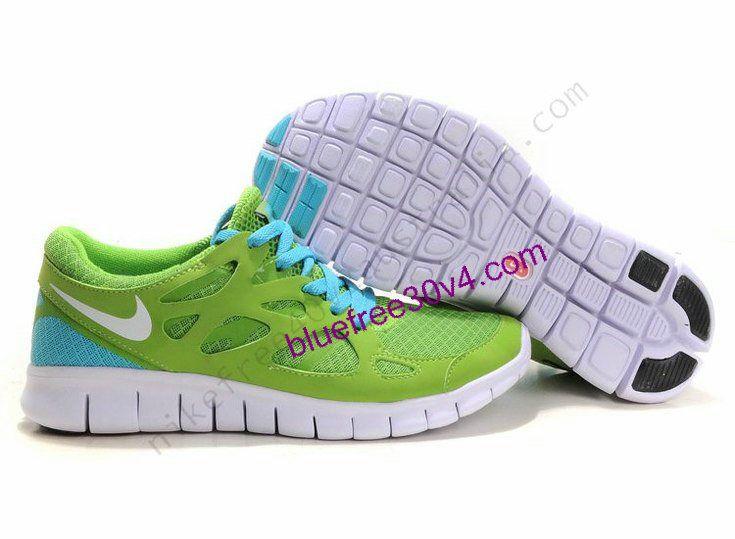 Nike Mens Libre 3.0 Chaussures De Course Bleu / Orange, Réversible Literie