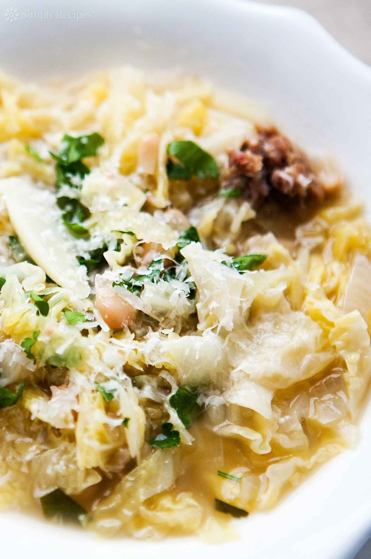 Italian Sausage and Cabbage Stew