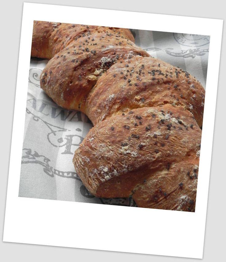 Espiga de pan de chapata con cebolla   CocotteMinute