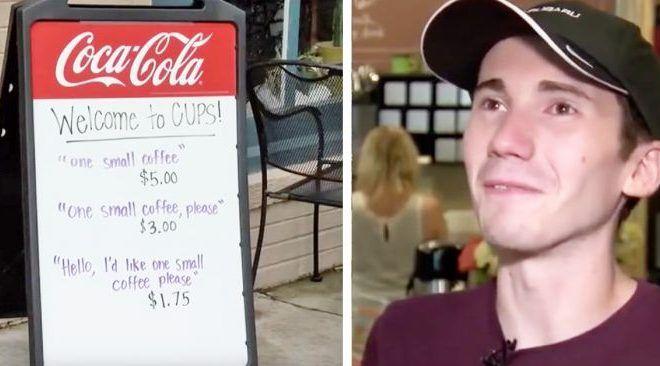 Mira qué hizo el dueño de este café para evitar a clientes groseros