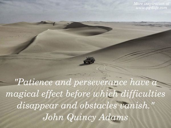John Quincy Adams Quote about Patience and Perseverance. Check out these other awesome quotes from the 44 USA Presidents.