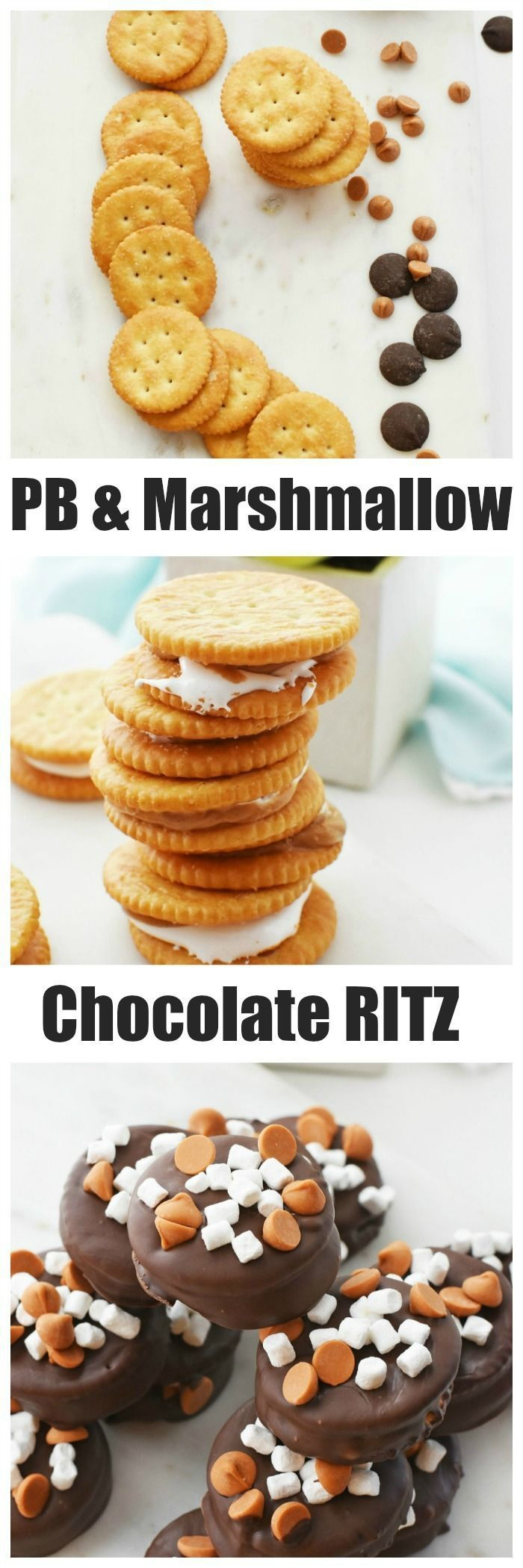 Ritz Peanut Butter Crackers (with Marshmallow)