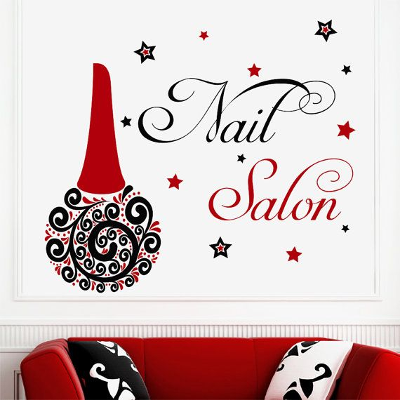 Wall Decals Vinyl Nail Polish Decal Sticker Beauty by DecalHouse