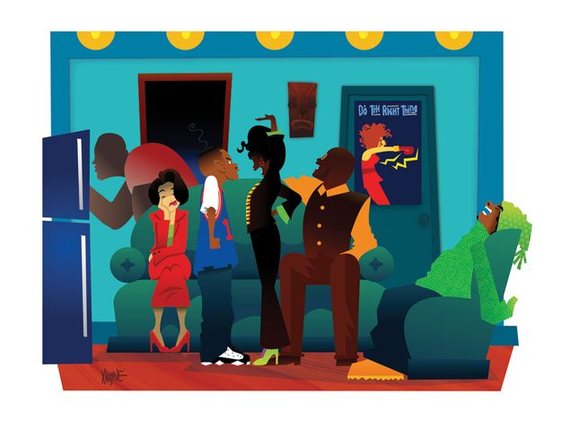 Martin   These Illustrations of '90s Black Pop Culture Are Amazing