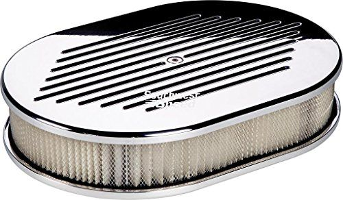 "NEW BILLET SPECIALTIES BALL MILLED POLISHED ALUMINUM SMALL OVAL AIR CLEANER ASSEMBLY, 11 7/8"" LONG X 8 3/8"" WIDE X 3"" TALL WITH K&N LIFETIME FILTER ELEMENT & STAINLESS STEEL HARDWARE Southwest Speed http://www.amazon.com/dp/B00XWPLX1K/ref=cm_sw_r_pi_dp_orjxvb0AERQV3"