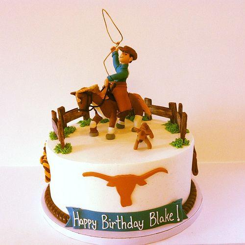 Cowboy birthday cake! | Flickr - Photo Sharing!