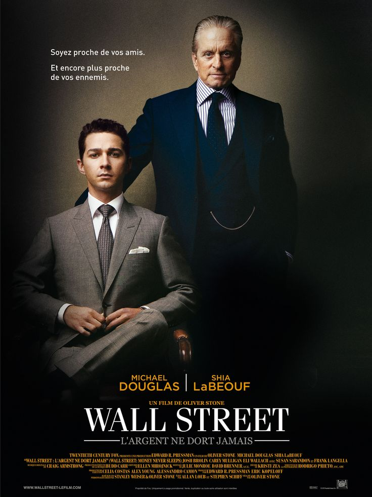 Wall Street : L'argent ne dort jamais [Wall Street : Money never sleeps] - Oliver Stone