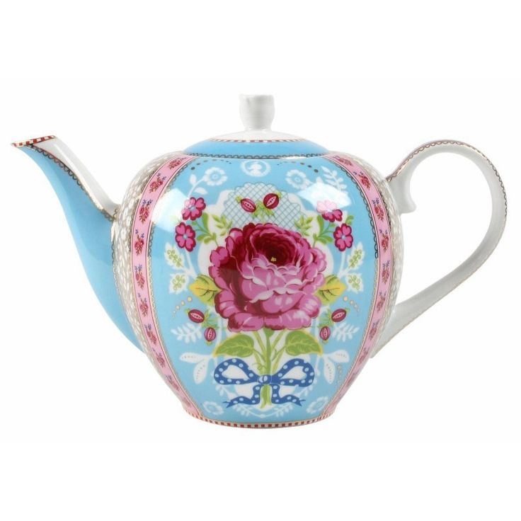 The Pip Studio Large Blue Floral Teapot is available at Gifts and Collectables online - we offer fantastic service and same day dispatch