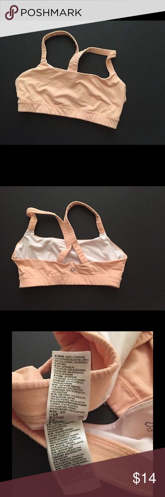 GAP fit low impact nude sports bra medium Great condition GAP Intimates & Sleepwear Bras