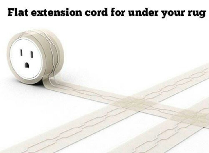 Flat Extension Cord To Go Under A Rug Guy Dorm Rooms