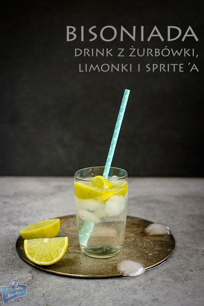 Bison Grass Vodka Cocktail/Drink z żubrówką