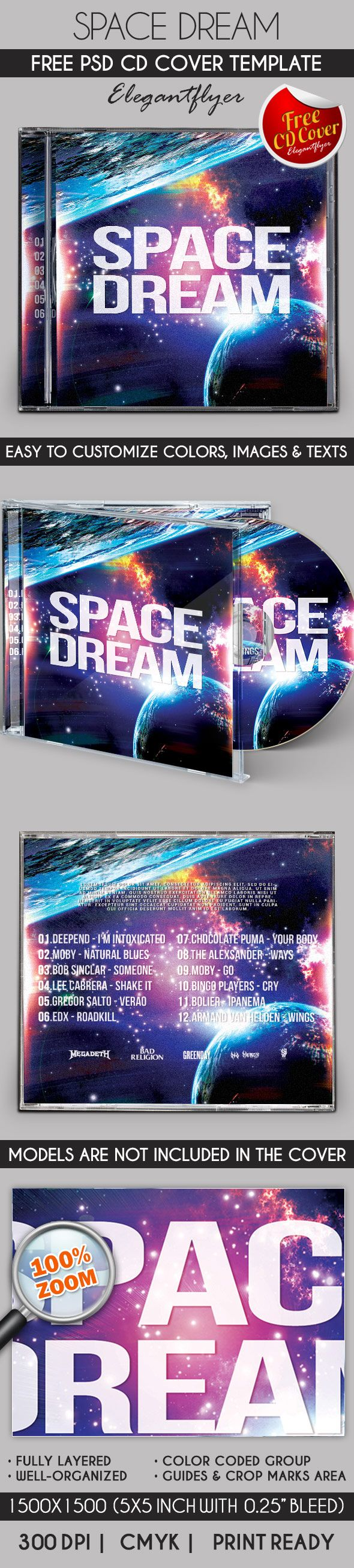 95 best free cd dvd cover templates images on pinterest