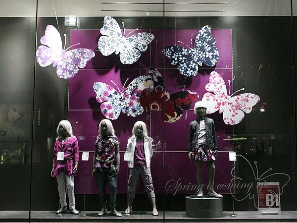 Visual: BENETTON - Vidrieras de Tokyo