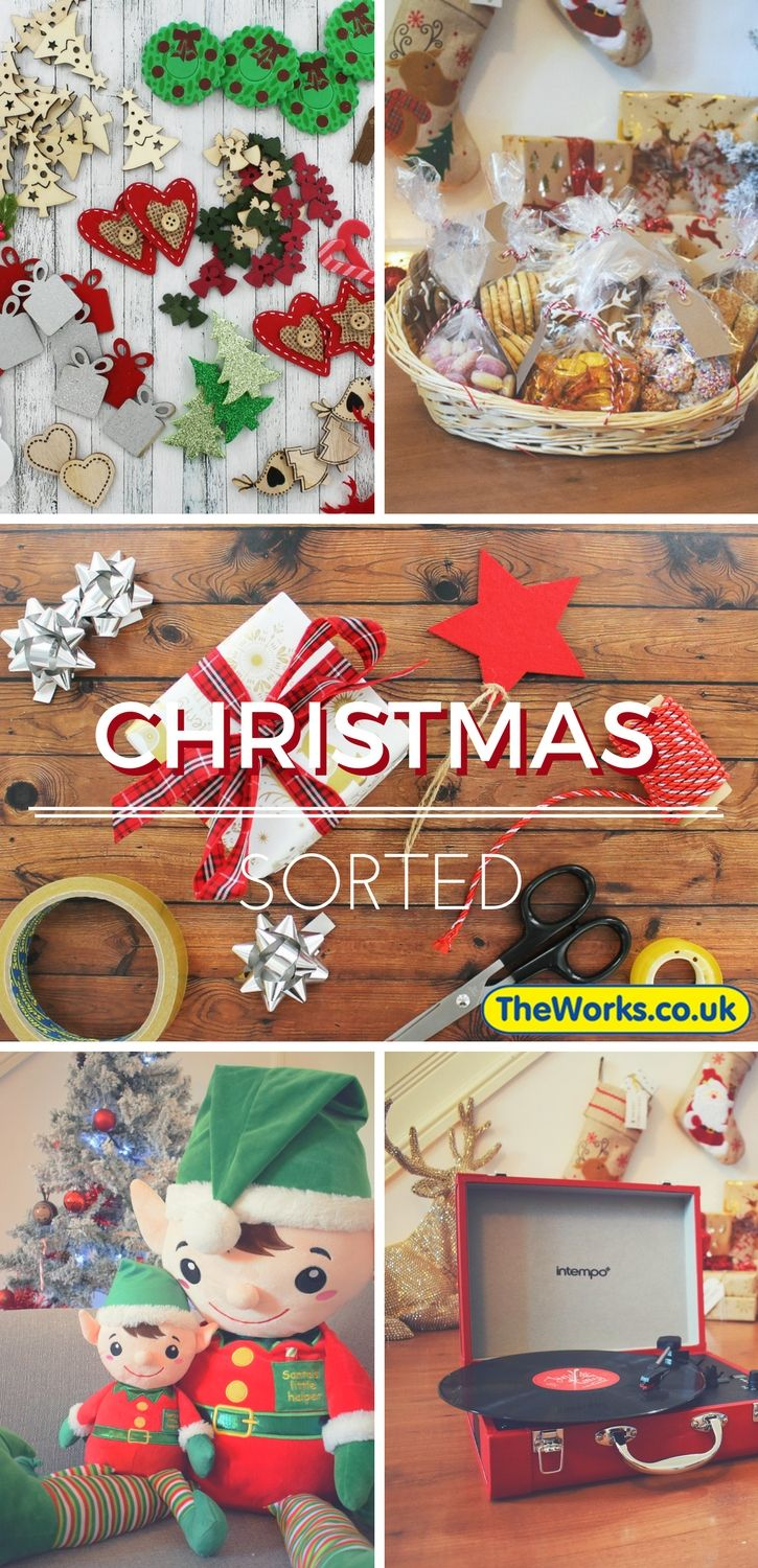 Your Christmas just got easy (and even better value) at The Works. Check out the Christmas Shop - decorations, gift deals, hampers, toys, wrapping paper, cheap stocking fillers, cards and more)