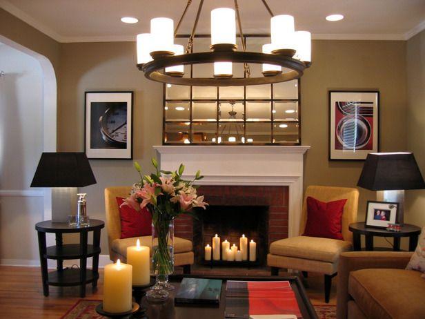 DIY Network fireplace