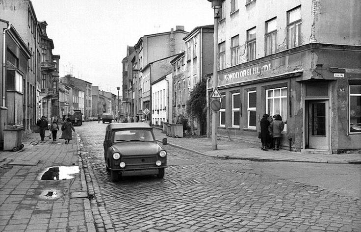 Rostock, Augustenstraße, Januar 1990, Foto: Siegfried Wittenburg