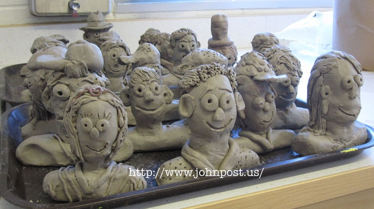 Clay Busts