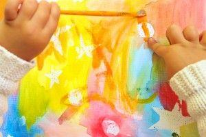 Técnicas de acuarela para niños | Blog de BabyCenter por @Carolina Llinas