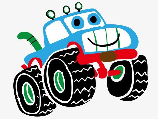 Big Wheel Car Cartoon Printing Childrens Clothing Cartoon Kids
