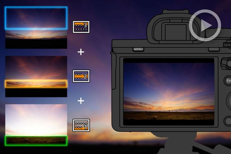Sony'S New Digital Filter App | Split Your Sensor/Scene Into 3 Areas & Control Exposure, Wb, And More #photography https://www.slrlounge.com/sony-app-digital-filter-sky-hdr-nd-filter/