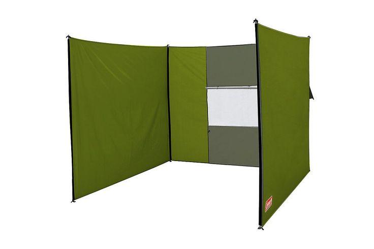 Praktischer Windschutz mit integriertem Fenster. Einfach aufzubauen, auch als Sichtschutz einsetzbar.  • Zusatzinformation: - Material: 100 % Polyester (Polyester Taffeta 68D 185T); Beschichtung: 100 % Polyurethan - Fenster: PVC - Material Gestänge: Stahl - Packmaß: ø 10 x 56 cm - Gewicht: 2,4 kg - Inklusvie Packtasche • Oberflächenbeschichtung: PU  Maße  • Größe (L x B x H): 550 x ...