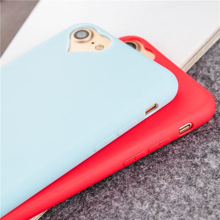 Heart Shaped Camera Hole iPhone 7 Cases