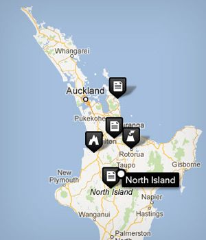 The 25 best Map of new zealand ideas on Pinterest  New Zealand