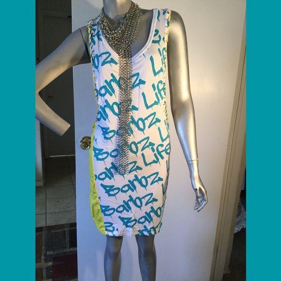 Brand new bikini cover up Nicki Minaj dress New dress. Very open on sides. You can wear with a spaghetti top underneath. Nicki Minaj Dresses