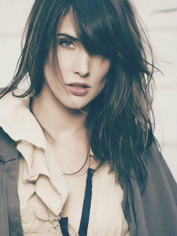 "Cobie Smulders depicts the perfect Jordan Holloway for my novel, ""When I See You""."
