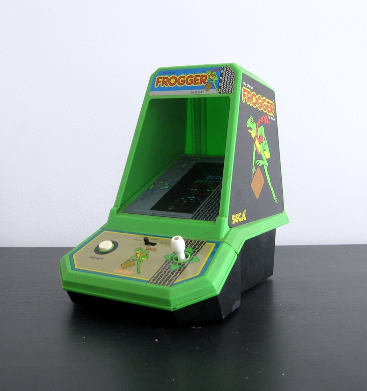 1980's Frogger Game. My best friend had one.