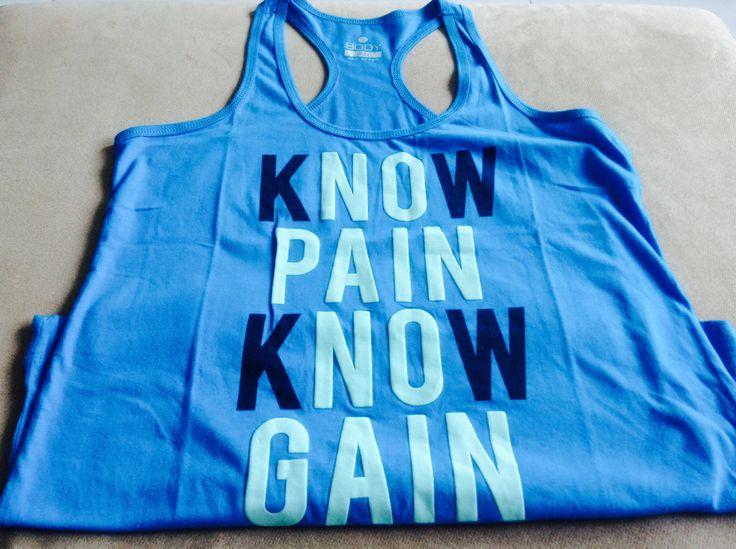 NO PAIN NO GAIN!!