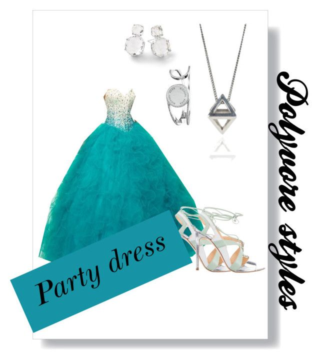 """""""Polyvore styles, party dress"""" by russell-mina on Polyvore featuring Alejandro Ingelmo, Michael Kors, Rachel Entwistle and Ippolita"""