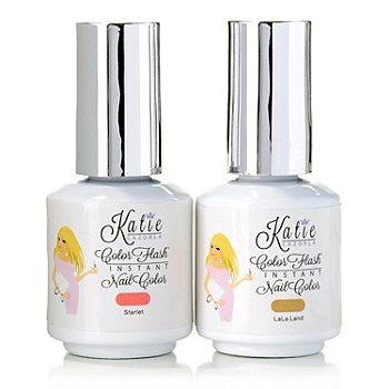 #HollywoodTrends™ Color Flash Instant Gel Nail Color Duo by Katie Cazorla 0.28 oz Each