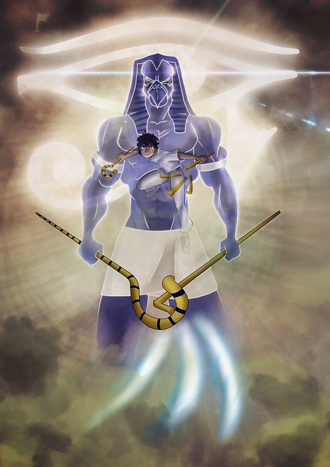 DeviantArt: More Like Kane Chronicles: Sadie and Anubis by johngreeko