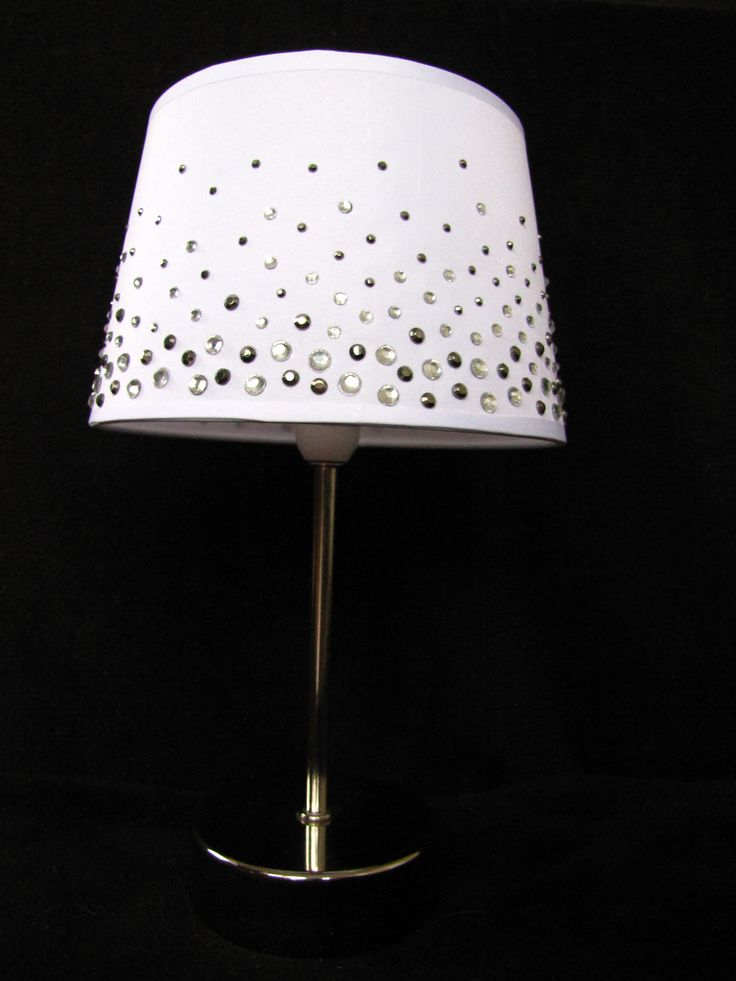 13 best bling images on Pinterest   Glitter lampshade, Lampshades ...