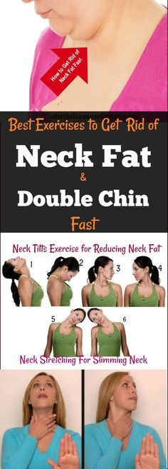 How To Get Rid Of Neck Fat And Double Chin Fast