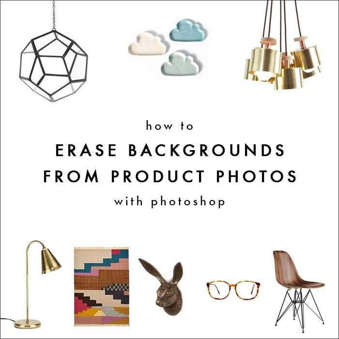 Using Photoshop to Erase Product Backgrounds | The Blog Market
