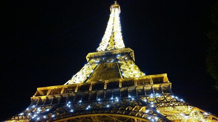 Just visited Paris and took this photo of the Eiffel Tower - always impressive (photo AN)