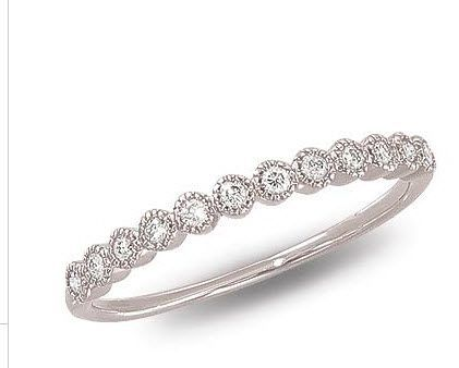 Pretty band. Promise ring. This is perfect. Just a simple band that I can wear with my other rings.. HINT HINT