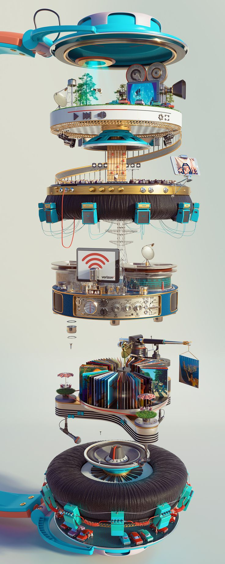 Verizon on Behance