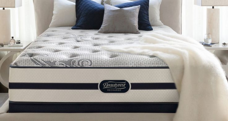 "BeautyRest Recharge Soulmate Luxury 14"" Firm Mattress"