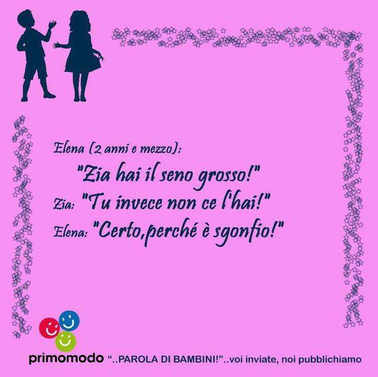 Una raccolta di citazioni tutta dedicata ai più piccoli. Il progetto ha avuto inizio nel dicembre 2013 ed ha coinvolto anche i cittadini di Bergamo e Provincia con un concorso a premi, conclusosi il 18 febbraio 2014.  www.primomodo.com